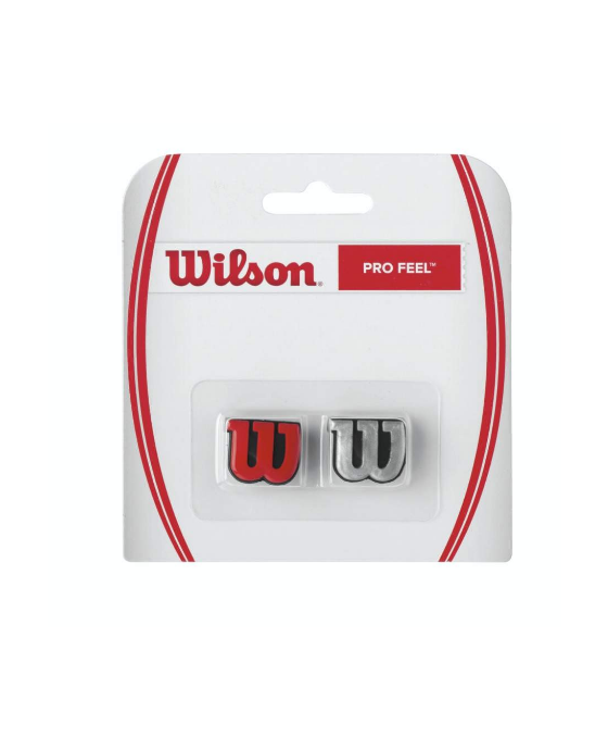 WILSON PRO FEEL RED SILVER
