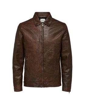 SELECTED PILOT - LEATHER JACKET